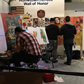 Graffiti HeArt and CLE Urban Winery Team Up for 'Paint a Mural' Wine Events