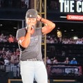 Luke Bryan Revels in Party Atmosphere at Progressive Field