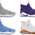 Nike Drops 20 New LeBron Soldier XI Colorways, Fresh AZG Retros Coming Soon