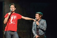 PHOTO COURTESY OF RHEABUTCHER.COM - An Akron native, comedian Rhea Butcher returns to her home state with her wife and fellow comedian Cameron Esposito at the Ohio Theatre. See: Tuesday.
