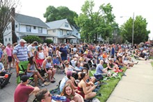 PHOTO BY EMANUEL WALLACE - Larchmere Porch Fest
