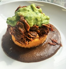 PHOTO BY DOUG TRATTNER - Chef Nowak's take on Mexican cuisine at Poca.
