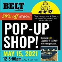 Belt Publishing Pop-Up Shop - Uploaded by Anne Trubek