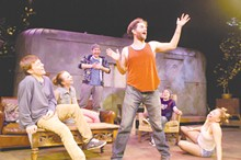 "Michael Johnson as Davey, Becca Moseley as Pea, James Rankin as Ginger, Mitch Rose as Johnny ""Rooster"" Byron, Kyle Huff as Lee and Leah Smith as Tanya."