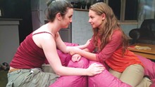 PHOTO BY NONE TOO FRAGILE - Cassandra West and Miranda Scholl