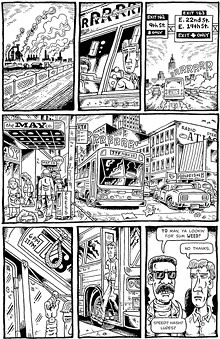 """A page from """"The Baron of Prospect"""""""