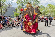 PHOTO BY DAVID BRICHFORD, COURTESY OF THE CLEVELAND MUSEUM OF ART - Parade the Circle hits Cleveland Saturday.
