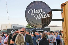 PHOTO BY EMANUEL WALLACE - The Van Aken Beer Garden returns to Shaker Plaza. See: Friday.