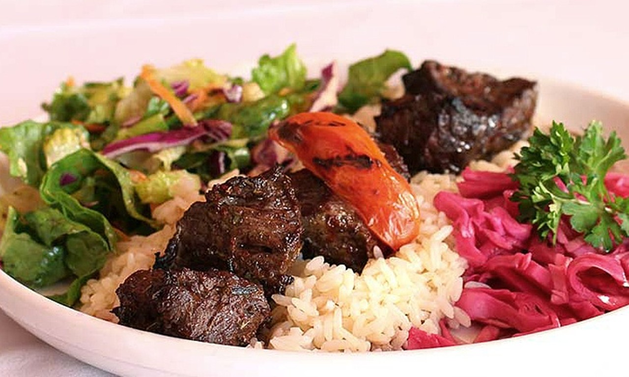 Middle eastern cuisine finds a home in west park food for Almanara mediterranean cuisine