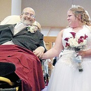 UPDATE: Dying Ohio Man Attends Daughter's Wedding, Gives Her Away From a Gurney