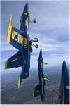 U.S. Navy Blue Angels Jet Demonstration Team