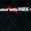 User Sets Mode+