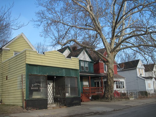 Vacant properties dot neighborhoods across Cleveland.