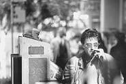 Vice squad: Pacino, working the cigarette case.