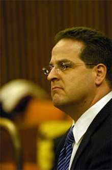 "PHOTO BY WALTER NOVAK - ""Vince doesn't hide from anybody,"" one lawyer says of Stafford."