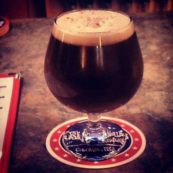 Willoughby Brewing Company: Peanut Butter Coffee Cup Porter