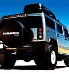 Wanted: Babes in bikinis to ride in Hummers.