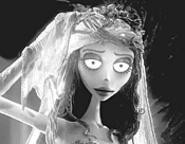 Watch out for the eyeball: Even when it pops, this bride does gross with grace.