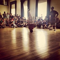 Sensational Summer: 48 of Cleveland's Best Summer Photos Weapons of Mass Creation, Breakdance Competition Photo Courtesy of Instagram
