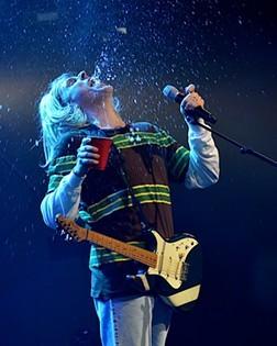 """Weird Al"" Yankovic performing at Cain Park in 2014. - JOE KLEON"