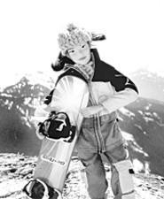 "What a doll! A ""Weekend Warrior"" featured at the - Banff Mountain Film Festival (Friday)."
