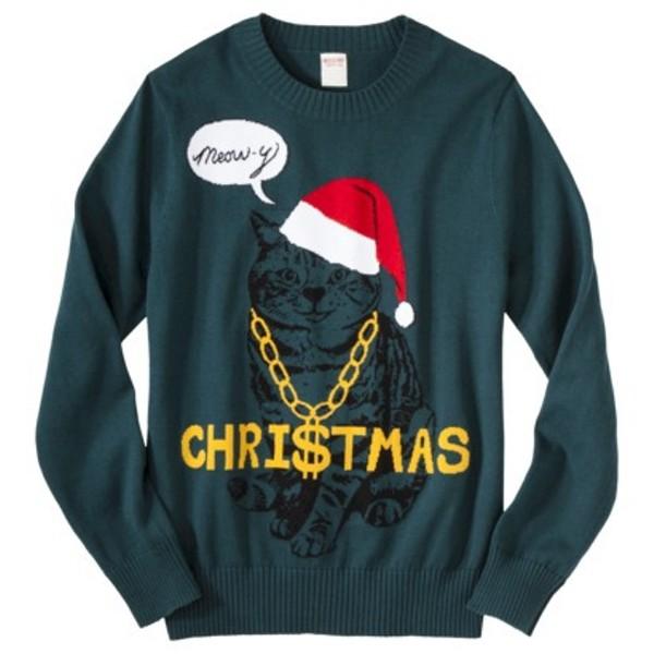 Mossimo Supply Co. Men's Pullover Crew Neck Sweater, $29.99