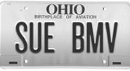 What would the BMV think of this ACLU-inspired - plate? - PHOTO ILLUSTRATION BY MICHAEL SHAVALIER
