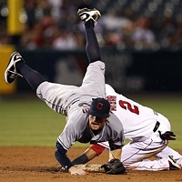 11 Indians' Double Plays That Don't Look Like Double Plays Wheelbarrow race, pit stop.