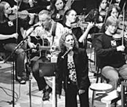 When worlds collide: Pat Benatar and the - Contemporary Youth Orchestra.