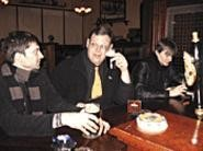 Whitechapel: They're not new wave, they're New Order (from left: Eric Pollarine, Nate Tomasch, and Ben Childs).