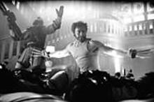 Wolverine (Hugh Jackman): Not your average - scientific-experiment-cum-rockabilly-caricature.