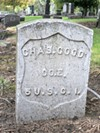 Woodland Cemetery: Black civil war vet; one of 86 buried at Woodland, though many headstones remain unmarked.