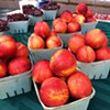 Woolf Farms has #nectarines that taste as good as they look! Find them at University Hospitals and @playhousesquare #farmersmarkets today! #nofilter #fresh #local #fruit #healthy #ohio #farms #NUFM #realfood #happyinCLE #CLEfood #dtCLE #universitycircle