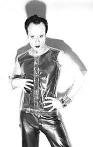 Would you like to touch his monkey? Klaus Nomi's life - (on earth and other places) is chronicled in The - Nomi Song (Thursday).