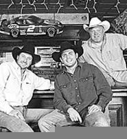 Yee-haw! The Honky Tonk Tailgate Party rolls into - Akron with (left to right) Jeff Carson, Rhett Akins, and Chad Brock.