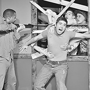 Zombie Time: A Theatrical Re-Do of Night of the Living Dead at Blank Canvas Theatre
