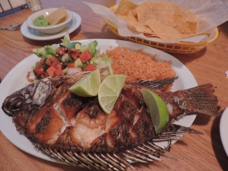 A great take on Mojarra Frita. - CHERYL BAISDEN SOLIS