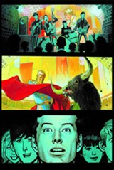 """DARK HORSE - A page from """"The Fifth Beatle."""" In the early '60s, Brian Epstein's other obsession was bullfighting (and bullfighters)."""