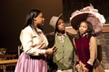 "A scene from the Masquers production of ""Flyin' West"" (Photo courtesy AASU)."