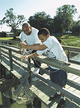 A shot from a past Skidaway Institute Marine Science Day
