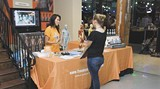 A shot from last year's Art Materials Trade Show