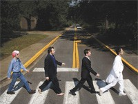 The Beatles & Widespread Panic play Broughton St.