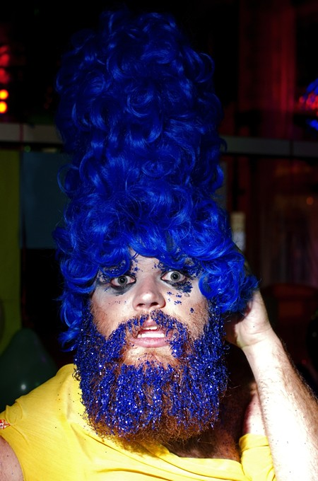 Anita Shave: the blues look good on you! - DAVE SPANGENBURG