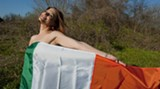 GEOFF L. JOHNSTON - Another shot of the lovely Amy enjoy the Irish Spring breeze