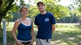 "Arianne McGinnis and Elliot McGann of Hope Grows Farms are among the local farmers featured in ""GROW!"""
