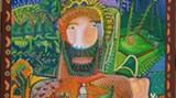 Art from the Jepson's new folk art exhibit