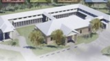 Artist's rendering of the new state-of-the-art Animal Control facility.