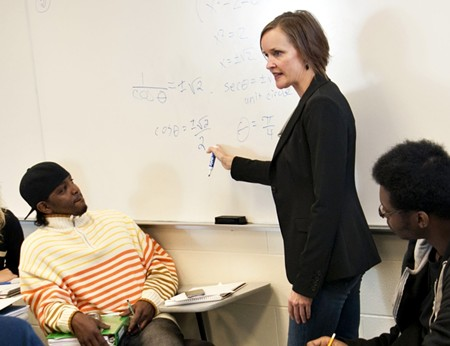 As a loyal Steelers fan, devoted mom, and one heck of a ballroom dancer, Dr. Hessinger defies the stereotype of the typical mathematician—and that's exactly her point.