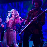 COLUMBIA PICTURES - As Sadie in Across the Universe, with Martin Luther McCoy as JoJo.