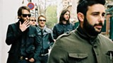 Ben Bridwell (that's him at far left) is the big cheese in Band of Horses